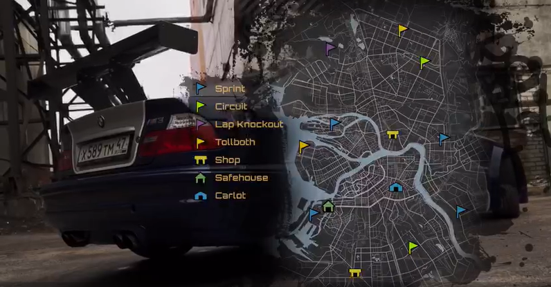 Need For Speed: St. Petersburg Style