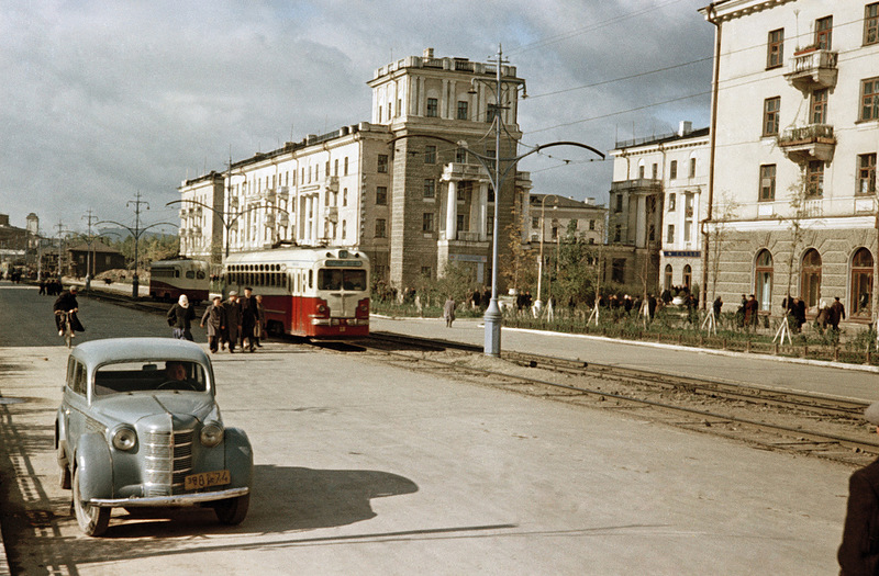 Color Photos of the Soviet Daily Life In the1950s