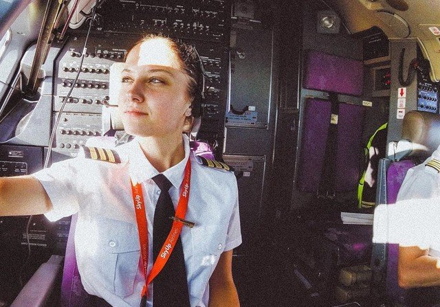 Yulia, the Russian Pilot Who Fights For Her Dream