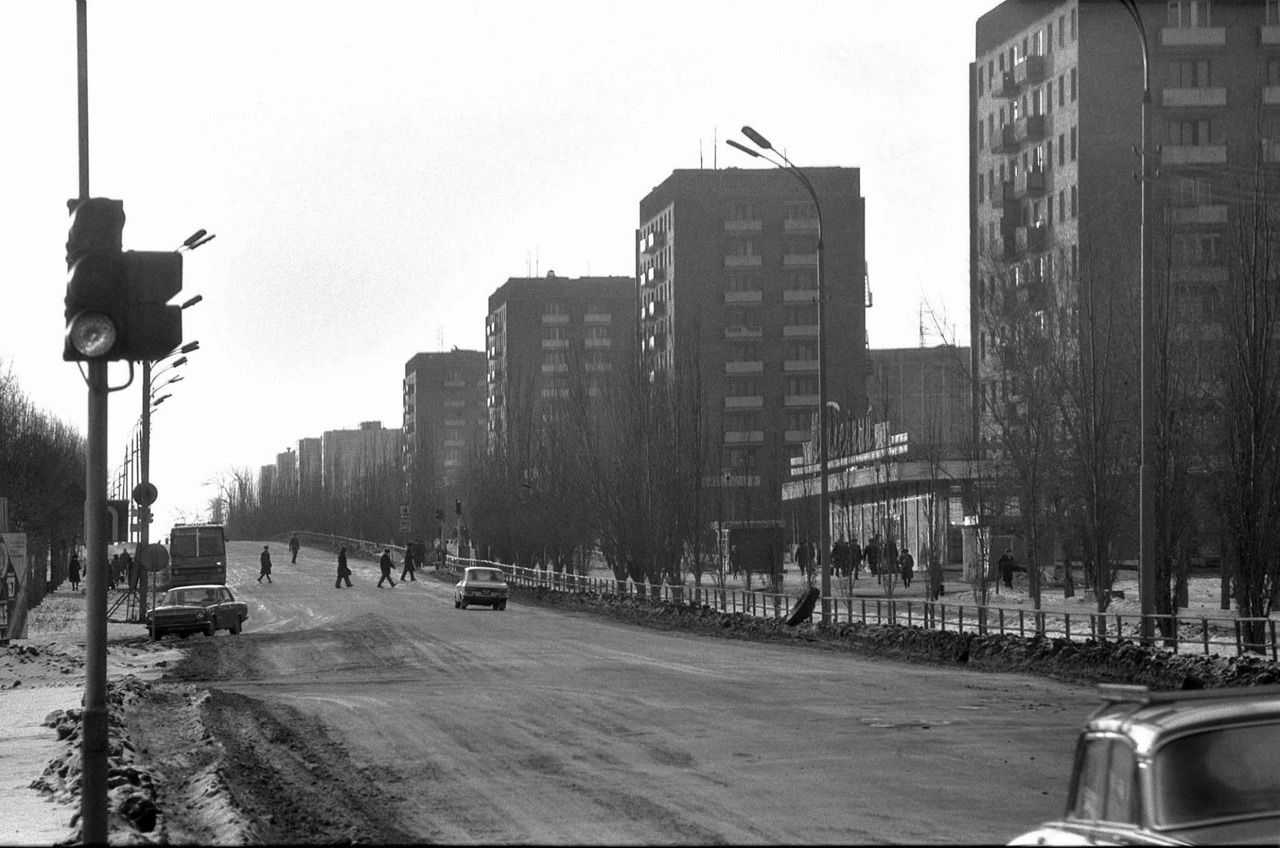 The Fall of the Soviet Empire Exemplified By the Ural City