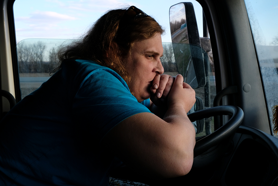 Female Longhaul Truckers From Russia