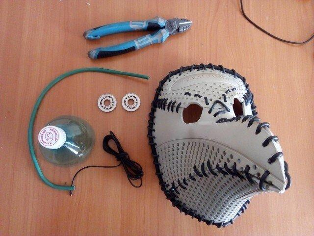Быстро и просто: маска чумного доктора из старого монитора - пошаговая инструкция (14 фото)