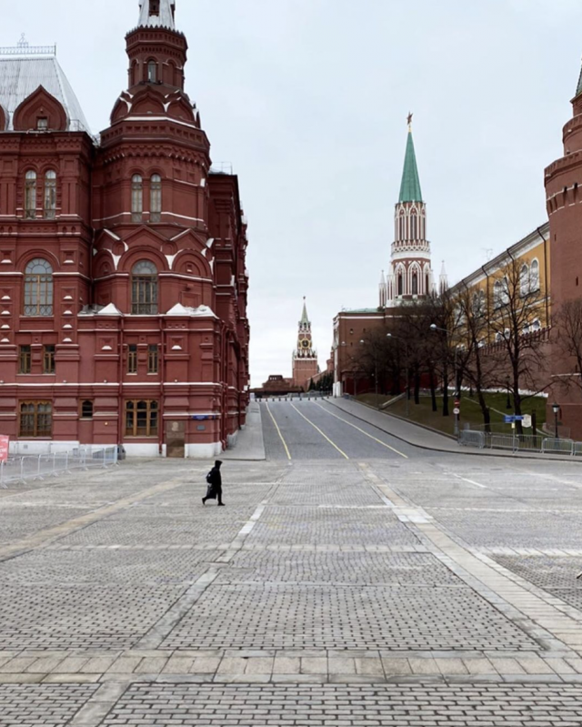 Moscow And St. Petersburg Look So Desolate These Days