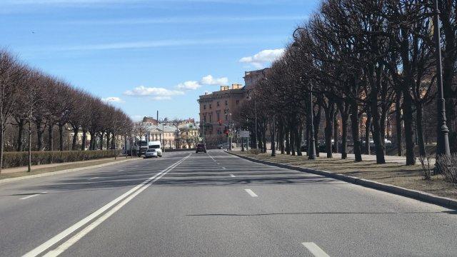 Опустевший Петербург в эпоху пандемии
