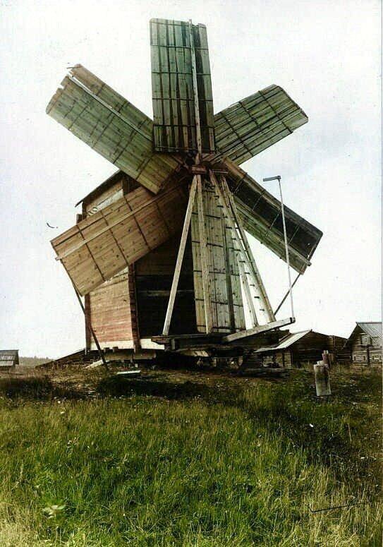 Фотографии русских деревень конца XIX века в цвете