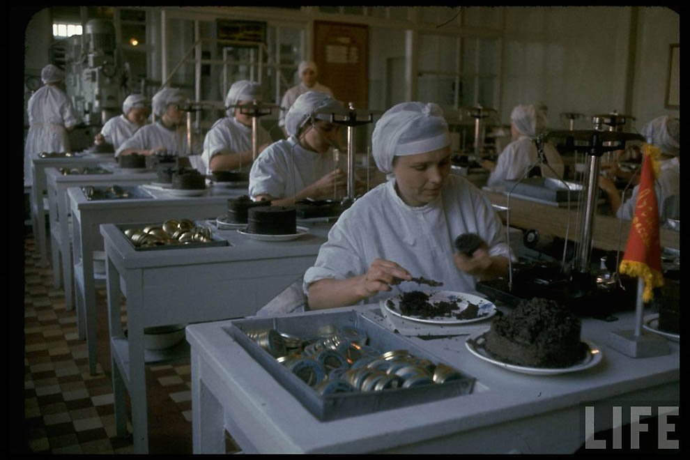 Black Caviar Production in the USSR