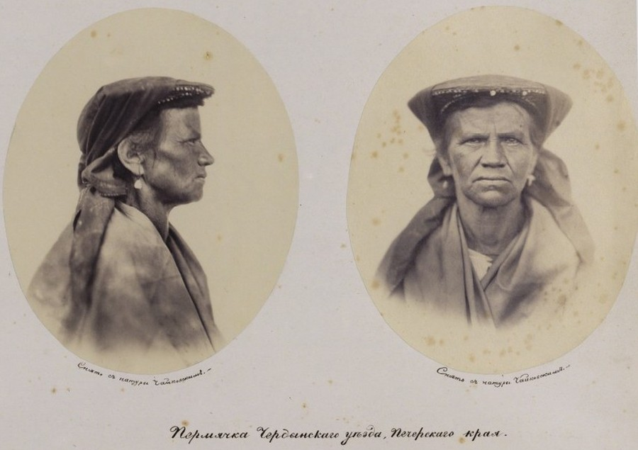 Unique Portraits of Russians 1868