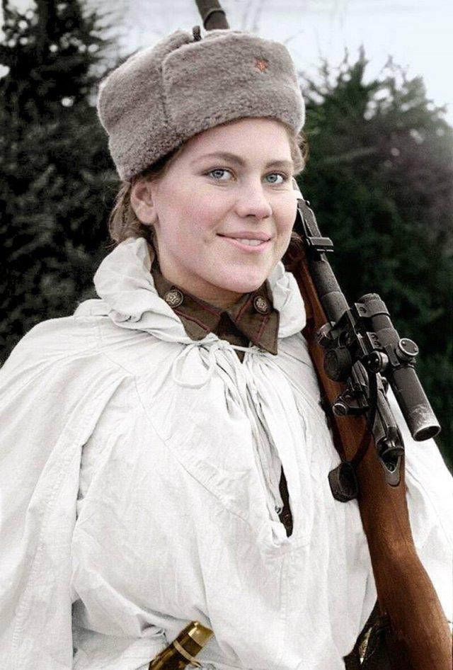 Female Soviet Heroes