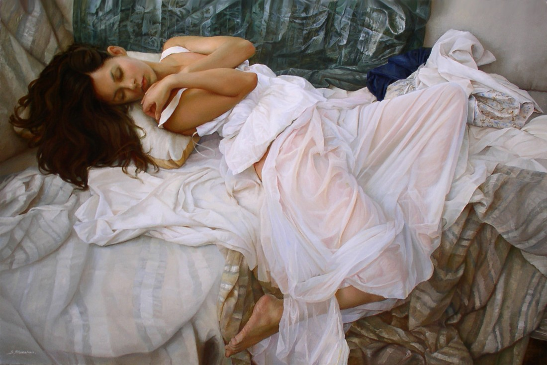 Female Beauty on Soft Pictures of Serge Marshennikov
