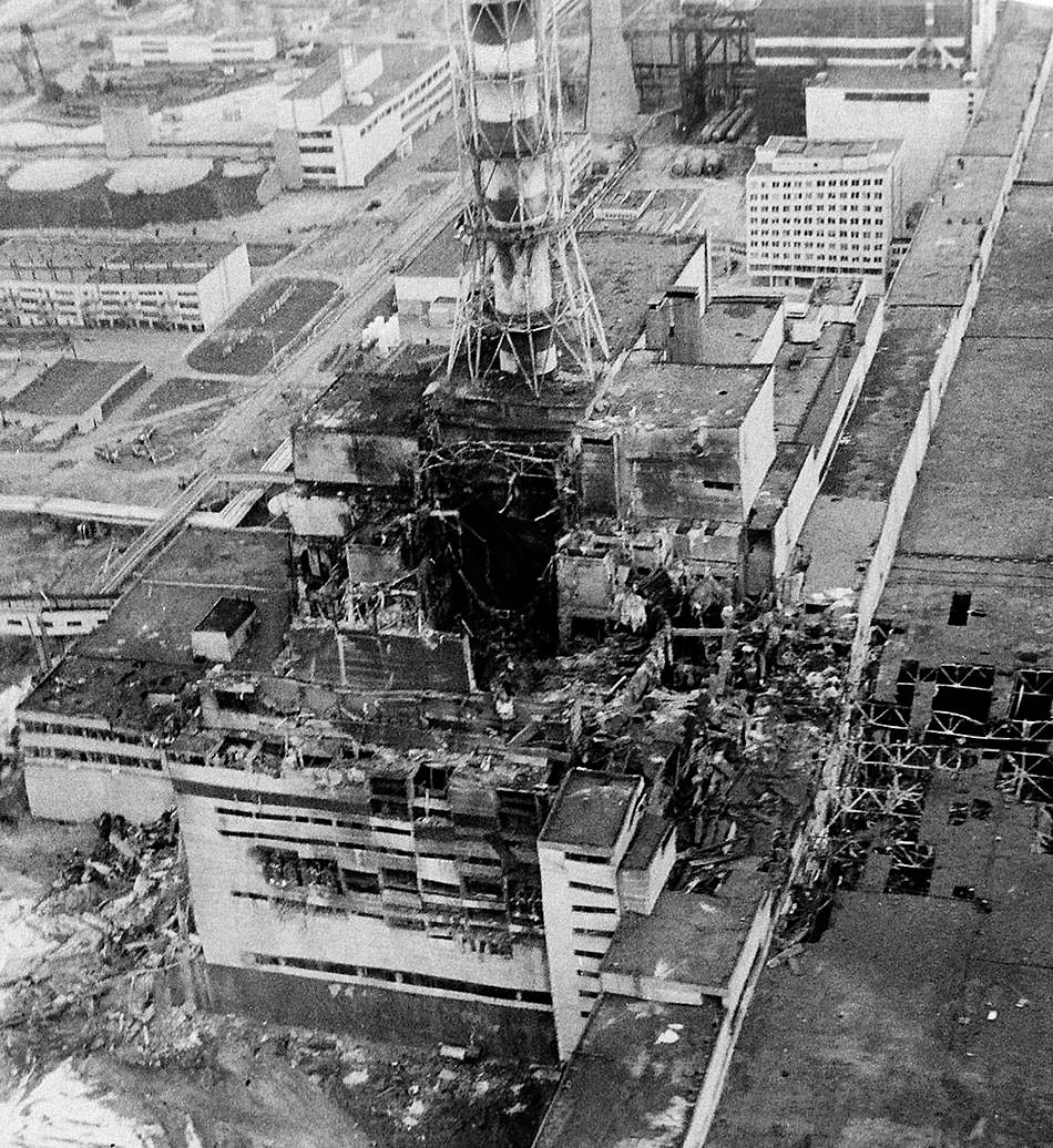 38 Images In Memory of the Chernobyl Catastrophe
