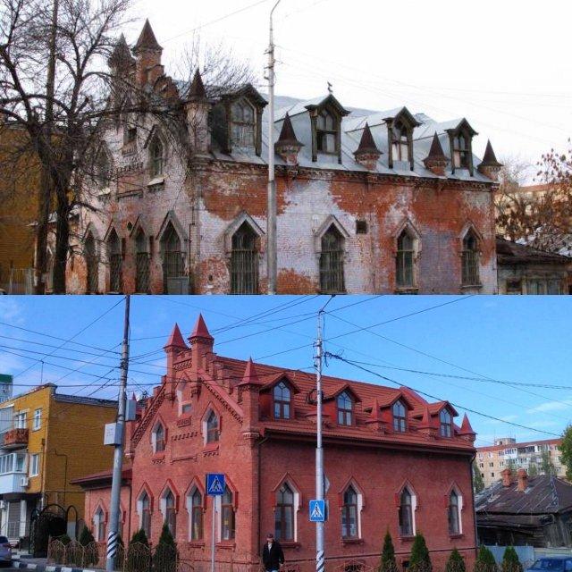 Русская архитектура - до и после восстановления