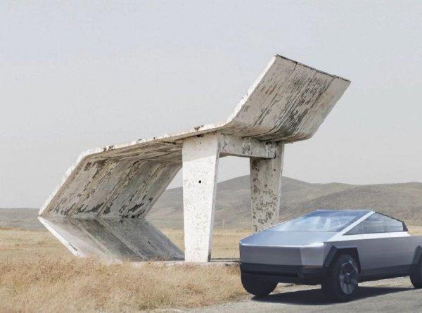 К вам подъехал Tesla Cybertruck