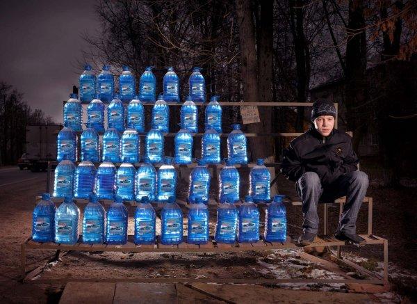 «Бутылки», 2010 год