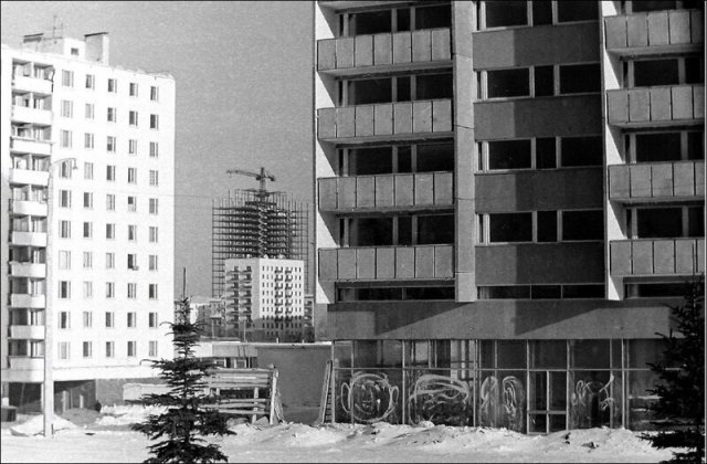 Москва 1960-1980-х годов