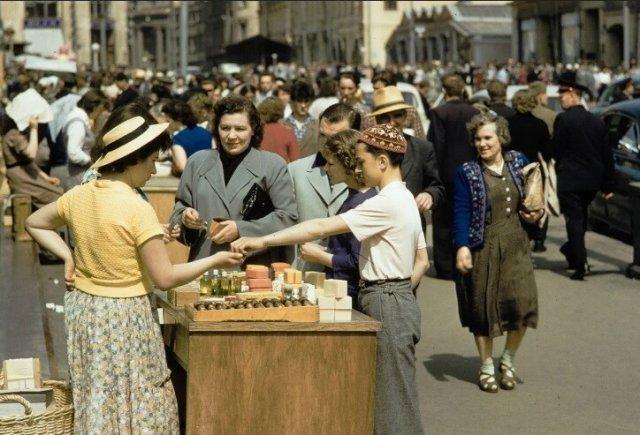 Цветные фотографии из советского прошлого, навевающие воспоминания
