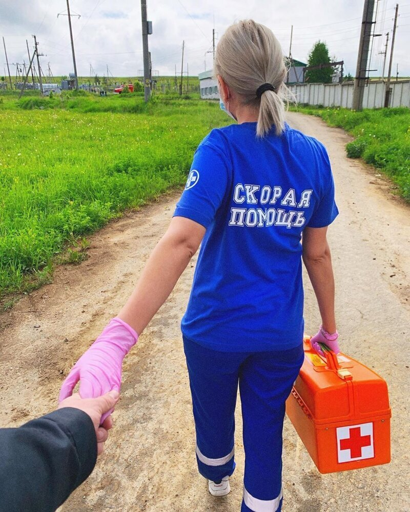 Pretty Girls Who Fight Covid-19 In Russia