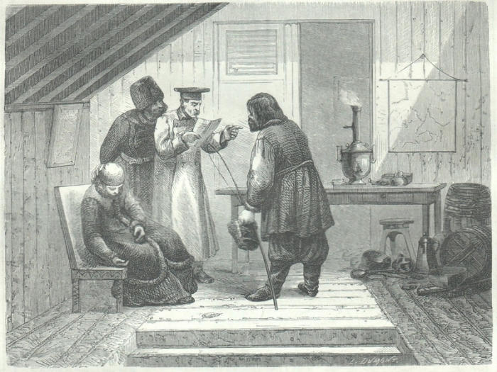 Drawings of Foreigners Who Travelled to Russia in the Mid XIX Century