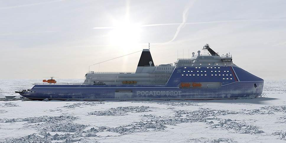 """""""Russia"""": the Most Powerful Icebreaker in the World"""