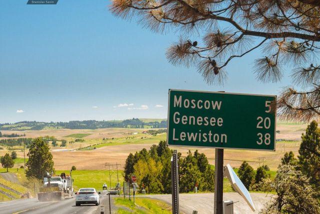 Город Москва, штат Айдахо
