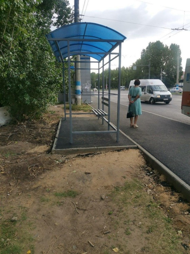 Остановка в Ульяновске