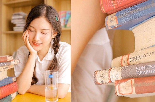 Какие русские книги читают девушки в азиатских странах?