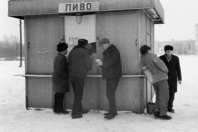 Пивные времен СССР