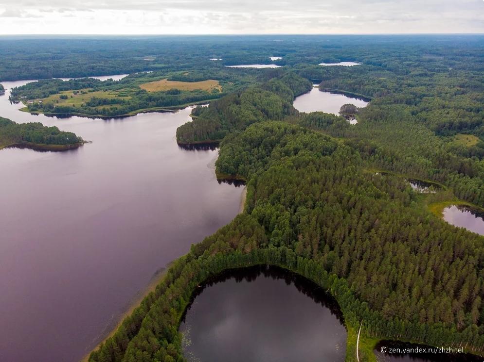 Heart-Shaped Lake of Russia