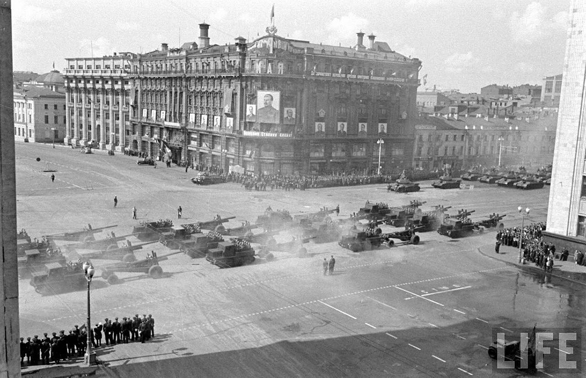 Moscow 1947 As Seen by an American