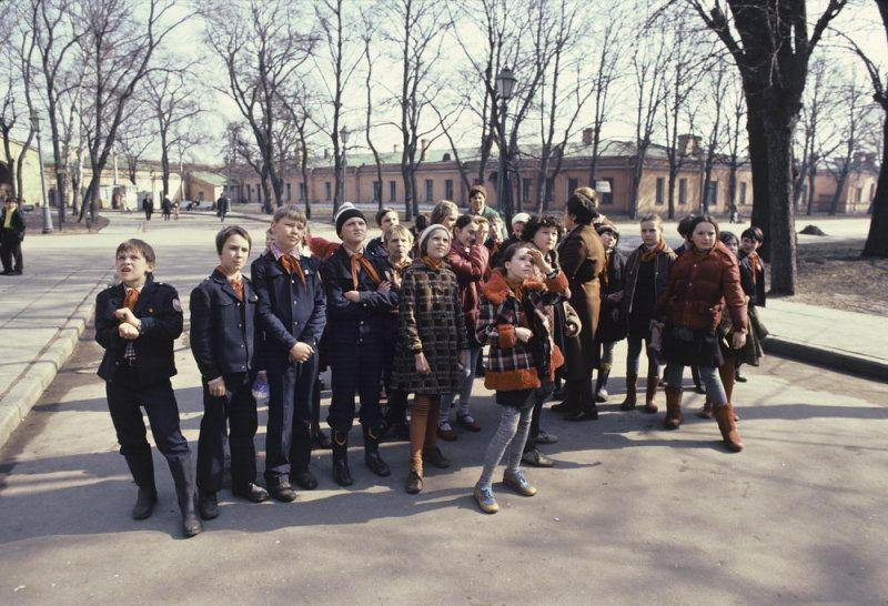 Early 1980s Photographed in the USSR by Patrick Murphy