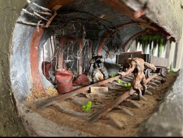Парень из Питера воспроизвёл свой вид на Metro 2033