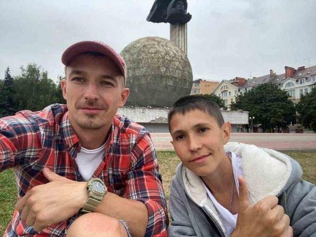 Денис Вашурин с другом