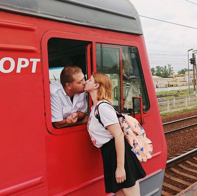 Екатерина Сергеева с мужем