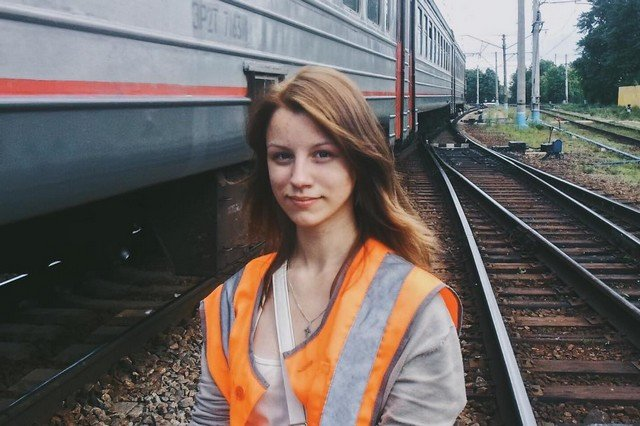 Katya Whose Love to Trains Became Her Profession