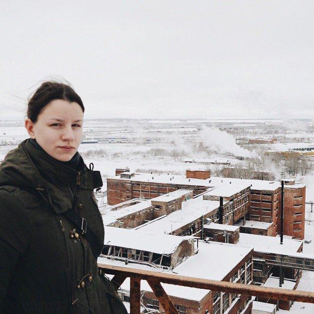 Екатерина Сергеева исследует заброшенные места