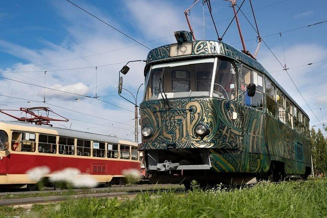 New Look of Russian Tram