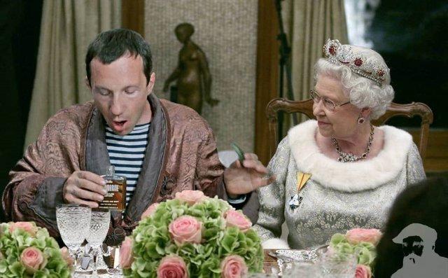 Королева Елизавета и «Джентльмены удачи».