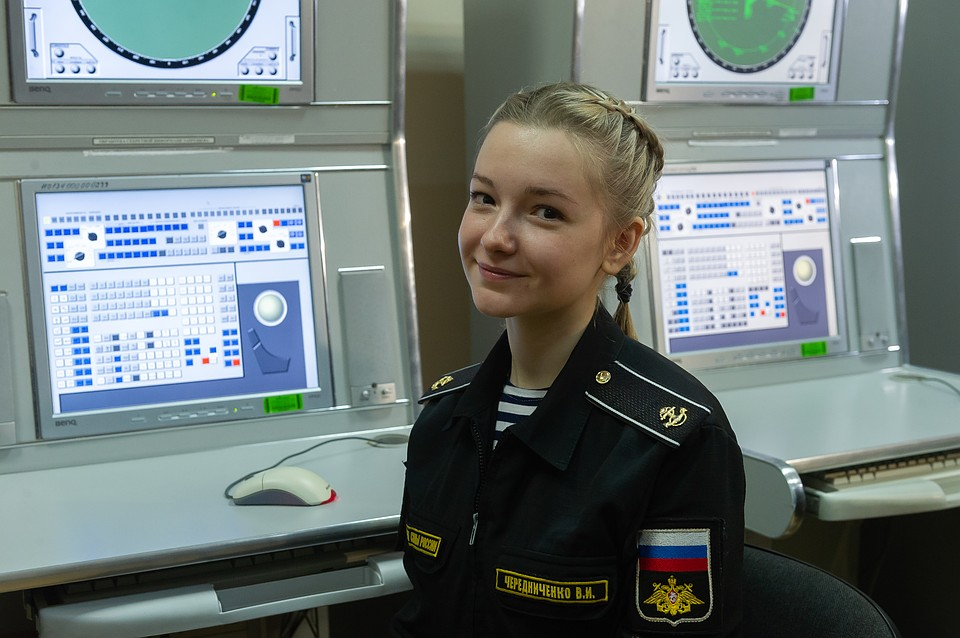 Girls in the Russian Fleet