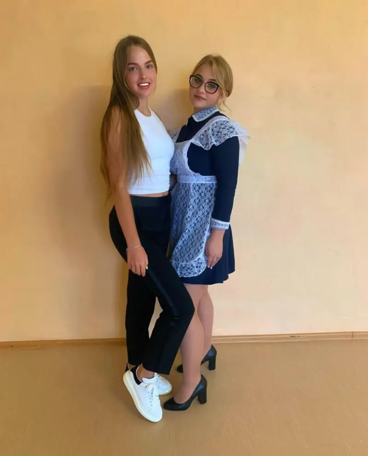 Pretty Russian Schoolgirls