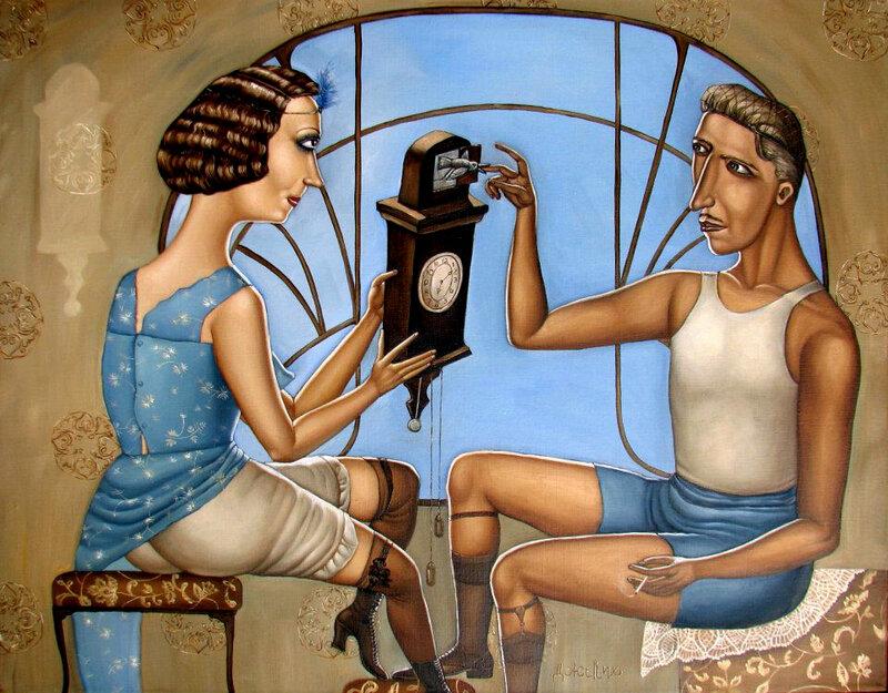 Иронические картины Анжелы Джерих: vakin — LiveJournal