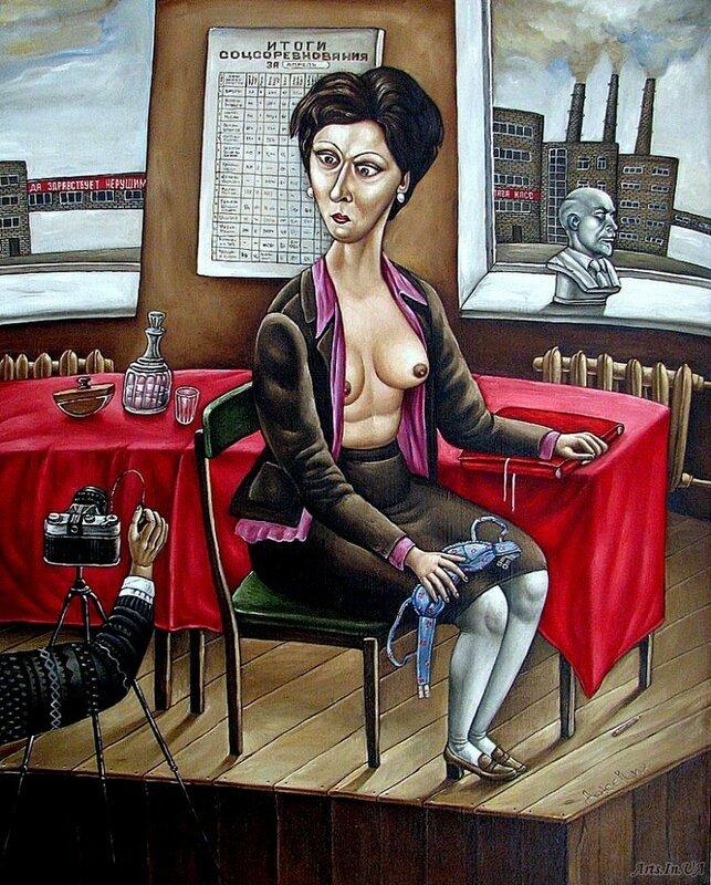 Картины донецкой художницы Анжелы Джерих Архив журналиста