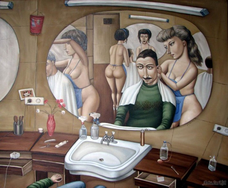 Soviet Spirit in Illustrations of Angela Jerikh