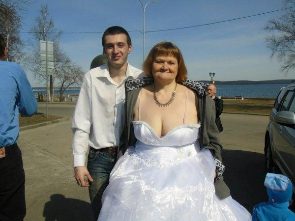пожилая невеста