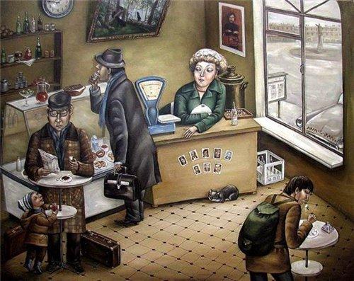 СССР на картинах Анжелы Джерих | Блогер Babka на сайте SPLETNIK.RU 21 ноября 2015 | СПЛЕТНИК