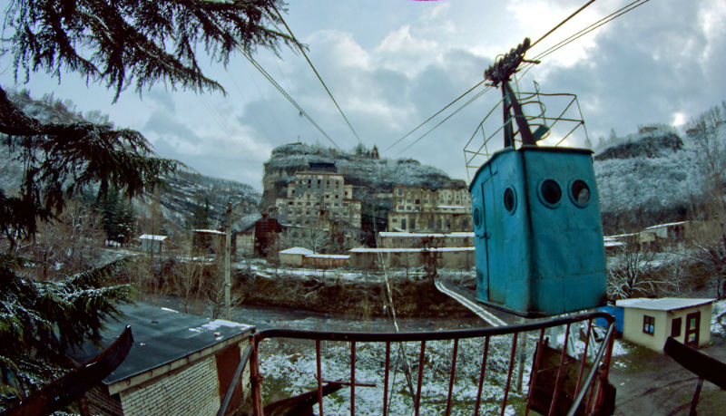 Chiatura: The Disappearing Town of Georgia
