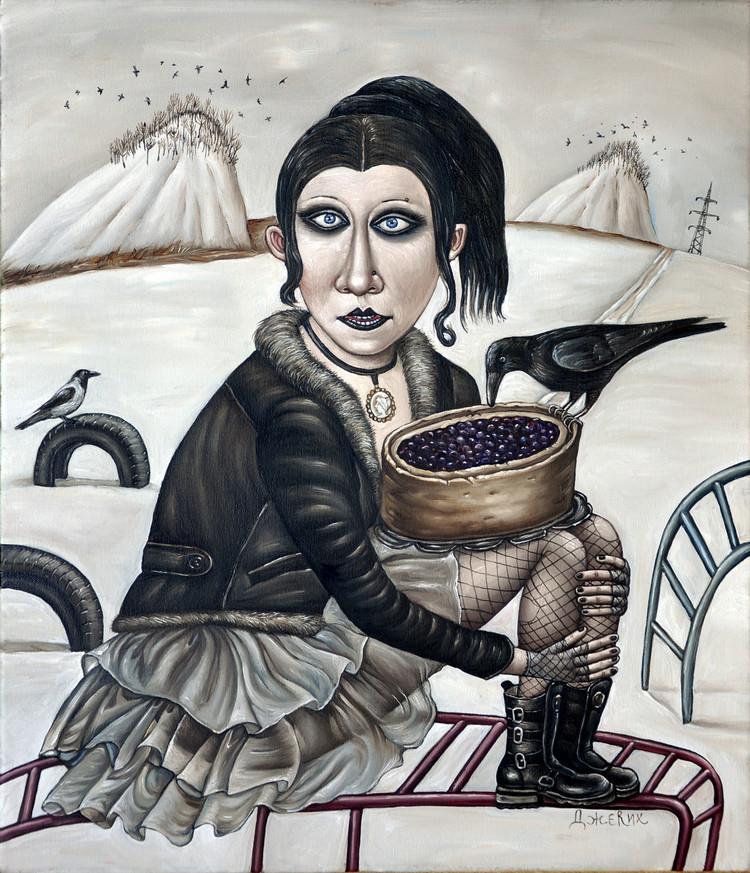 Картины Анжелы Джерих: добрая ирония в советском духе 25