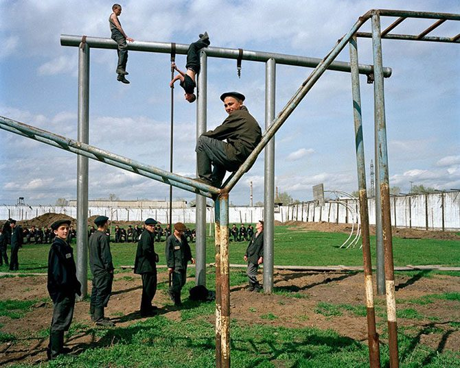 Life of Young Prisoners In Forced Labor Camps of Siberia