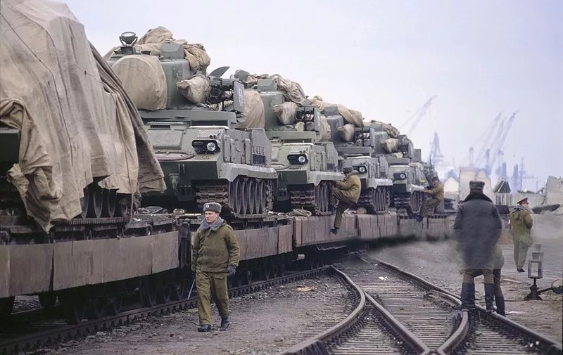 Soviet Troops Leaving Germany