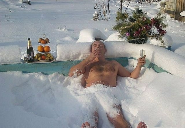 Moments of Relaxation. Russian Way