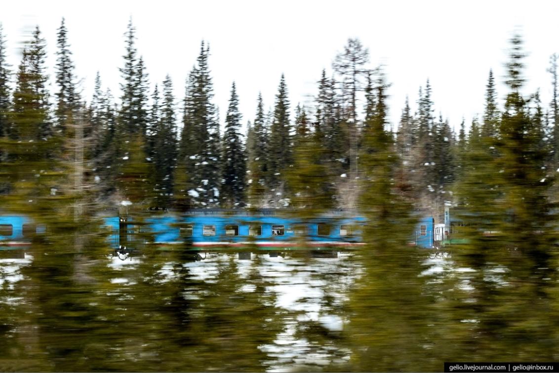 Railways of Severe Russian North