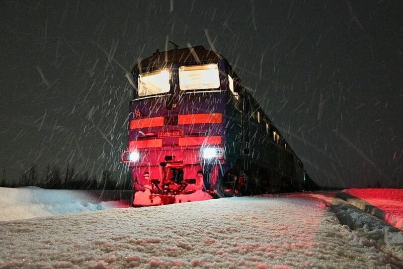 Engine Driver From Norilsk Shares His Photos